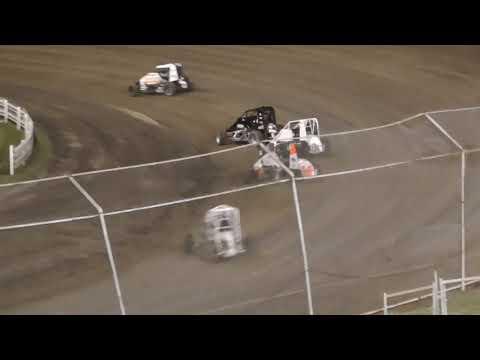 Skagit Speedway Dirt Cup Night #3 NW Focus Midgets June 26th, 2021 - dirt track racing video image