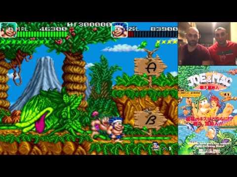 Caveman Ninja Joe & Mac // Arcade // Jugando A Dobles Cap. 25 // RETRO