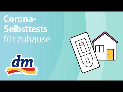 Corona-Selbsttests: Antigen-Schnelltests selbst zuhause anwenden | dm erklärt