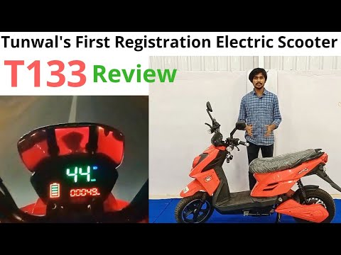 2021 Tunwal High Speed Electric Scooter in India - T133 Review