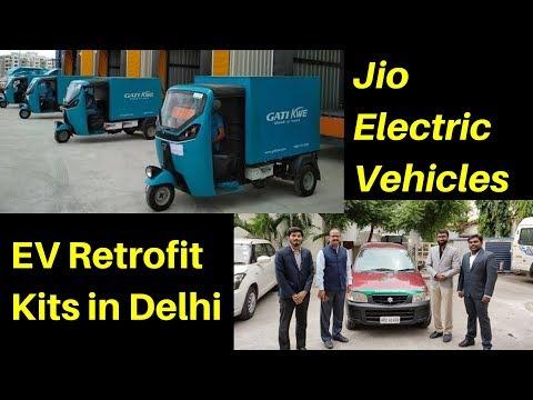 Electric Vehicles News 54: Jio EVs, EV Retrofit Kits, BYD Electric Vans in India