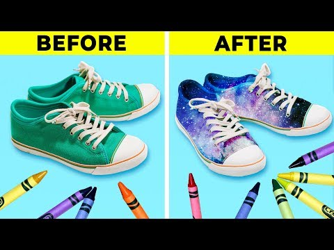 13 AWESOME DIY IDEAS TO RENOVATE YOUR SHOES