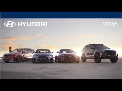 First Look At the Hyundai Tuner Vehicles - Hyundai SEMA 2016