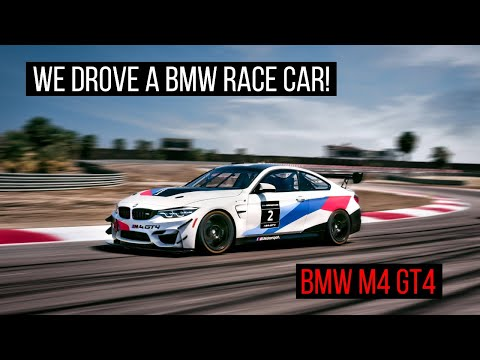 BMW M4 GT4 Experience at the BMW Performance Center