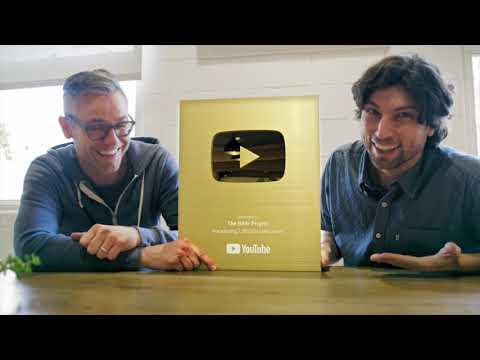 YouTube Creator Award Unboxing - 1 MILLION Sub Gold Award