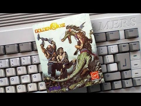 Amigamers Review #37 Golden Axe