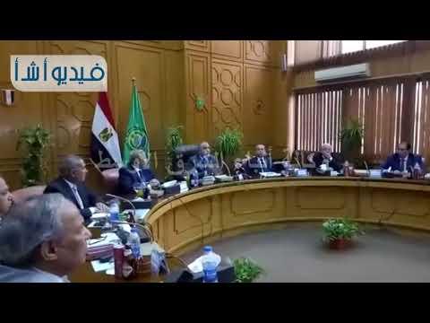 بالفيديو: وزير التنمية المحلية يرأس جلسة اجتماع اللقاء الأقليمى الرابع
