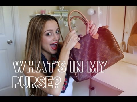 TAG: What's in my purse? - UC8v4vz_n2rys6Yxpj8LuOBA