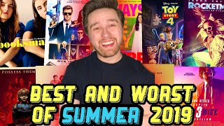 The Best and Worst of Summer Movies 2019! | Reviewing Summer Movie Season 2019