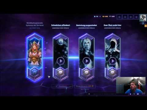 Heroes of the Storm Loot Box Opening