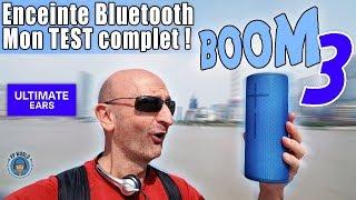 Vidéo-Test : TEST Enceinte Bluetooth BOOM 3 : ADIEU à la Mini-Jack !