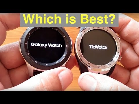Samsung Galaxy Watch (Gear S4) vs Mobvoi Ticwatch Pro Smartwatches: Which should you buy?