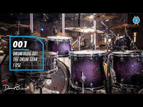 Drum Vlog 001 // The Drum Gear I Use! // Daniel Bernard