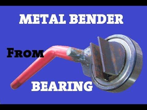 Metal Bender Made Out Of Bearing - UCvUlVXwSFKzk963FbB9L9zg
