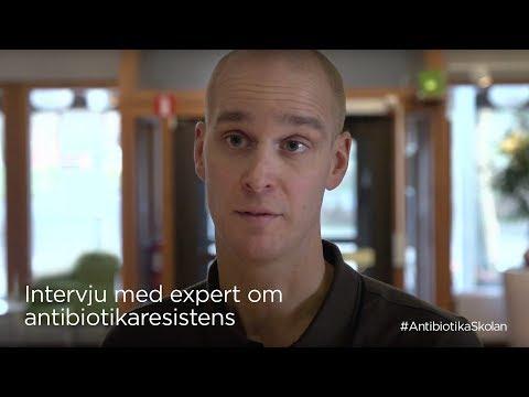 Antibiotikaskolan - intervju med Oskar Nilsson, SVA