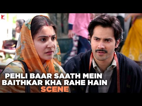 Khana Tasty Hai | Scene | Sui Dhaaga - Made In India | Varun Dhawan | Anushka Sharma
