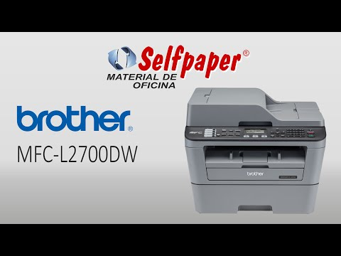 Brother MFC-L2700DW, video Hd, selfpaper.com