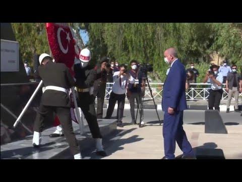 Presidente quer solução de dois Estados para a ilha cipriota