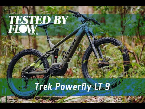 Flow's First Bite: Trek Powerfly LT 9, a burly e-bike built for a proper thrashing.