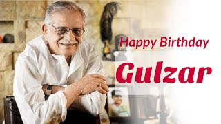 Happy Birthday Gulzar | Gulzar | Indian film director | Lyricist | Poet