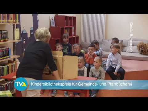 TV Aktuell: Kinderbibliothekspreis 2019 - Preisträger Obertraubling