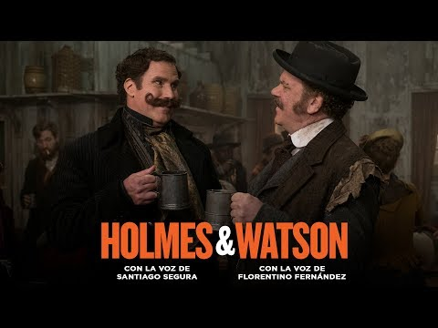 HOLMES & WATSON. Ebriograma. En cines 22 de febrero.