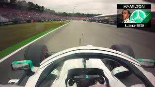 F1  TOP DEZ ONBOARD NO GP DA ALEMANHA 2019
