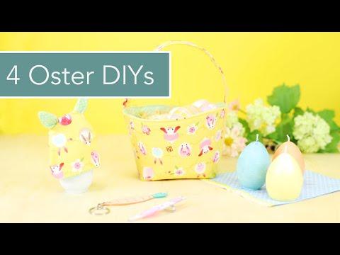 4 DIY Ideen für Ostern mit kostenlosen Schnittmustern & Verlosung