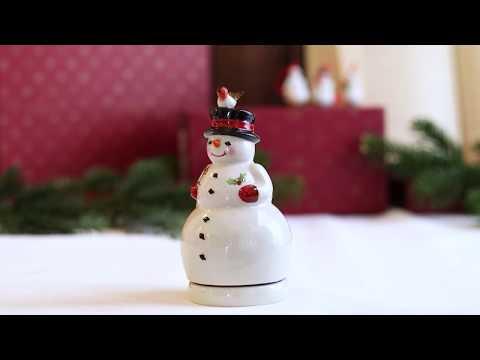 Nostalgic Melody - Snowman | FESTIVE CHRISTMAS IDEAS | Villeroy & Boch