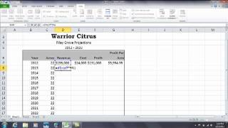 Excel: How to build formulas for percentage increase and percentage