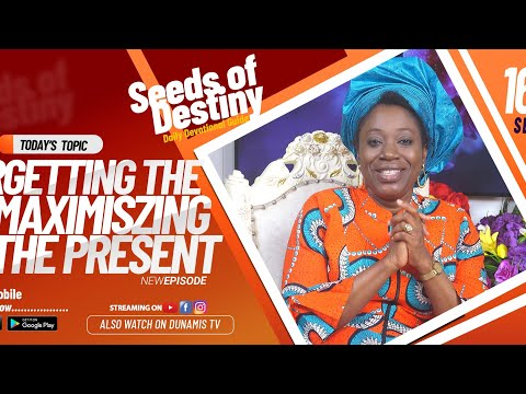 Dr Becky Paul-Enenche - SEEDS OF DESTINY - WEDNESDAY SEPTEMBER 16, 2020