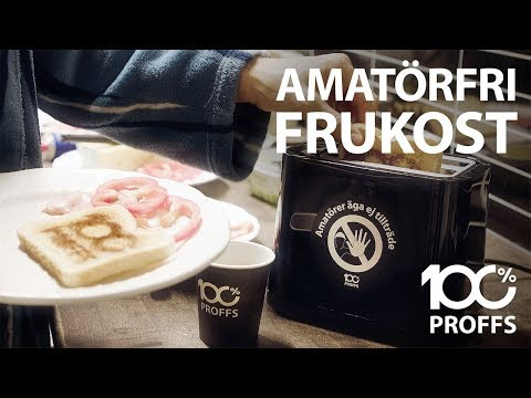 Garanterat amatörfri frukost