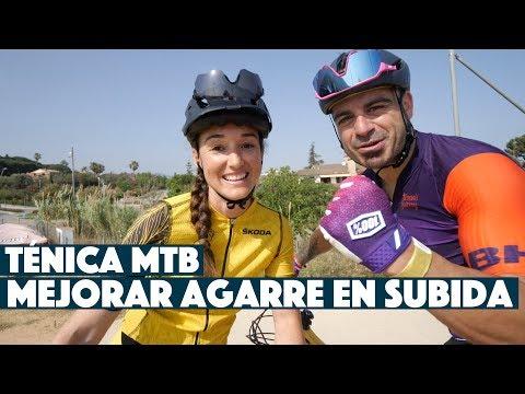 TÉCNICA MTB: MEJORAR AGARRE EN SUBIDA | Valentí Sanjuan y Laura Celdrán