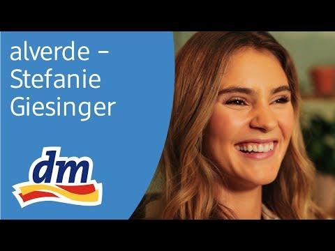alverde Magazin - Interview des Monats mit Stefanie Giesinger