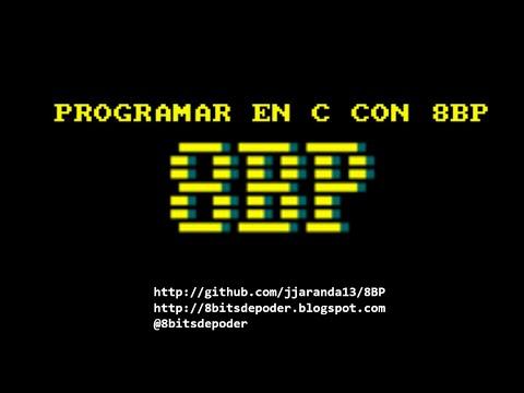 6. Programa en C con 8BP