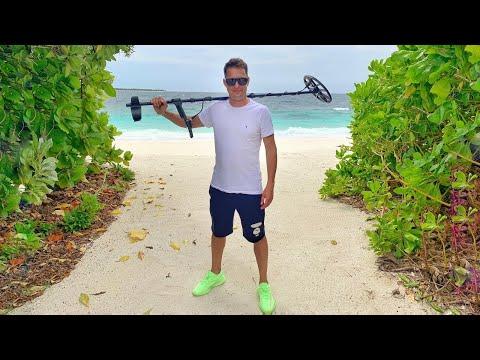 Мальдивы — Рай для Кладоискателя! Отель Dhigali.