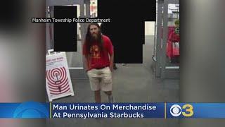 Man Urinates On Merchandise At Pennsylvania Starbucks, Police Say