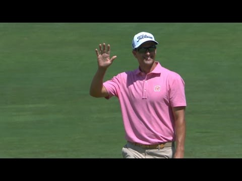Adam Scott unstoppable with 45-foot birdie putt at The Barclays