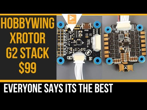 Hobbywing XRotor Micro G2 Flight Controller 45A 4in1 ESC // Overview and Setup Guide - UC3c9WhUvKv2eoqZNSqAGQXg