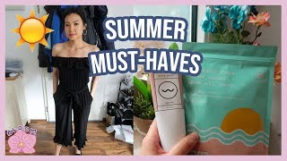 12 SUMMER 2019 MUST-HAVES/ESSENTIALS | Beauty (Makeup & Skincare), Lifestyle & Fashion