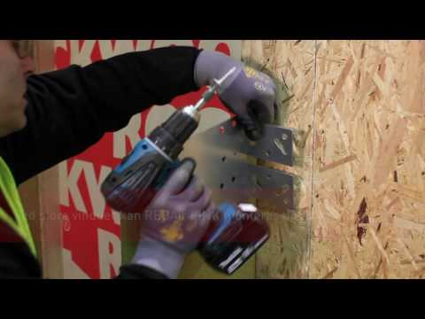 Montering av vinduer m.m. i ventilerte fasader - REDAir LINK