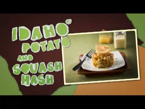 Idaho� Potato and Squash Hash