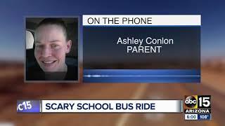 Parents detain driver accused of threatening Kingman school bus