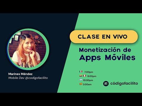 Clase en vivo: Monetización de apps móviles