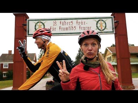 Flugfiskekurs och Vasaloppet på cykel - Gone Camping gästar Dalarna