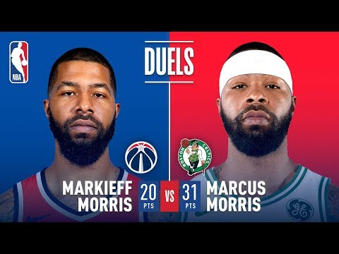 There's A Morris Twins Family Feud in Double OT In Boston!