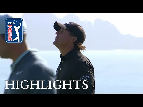 Phil Mickelson?s extended highlights | Round 4 | AT&T Pebble Beach