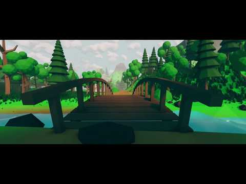 Magical forest   low poly animation