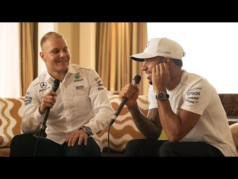 One Awesome Week in Malaysia with Lewis and Valtteri!