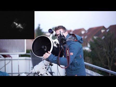 Capturing the ISS (International Space Station) through my Telescope - UC4LFmDVPdiNQmXUJKptAxXA